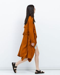 LOOSE-FIT TRENCH COAT-Trench Coats-Coats-WOMAN   ZARA United States