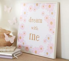 Dream With Me Art | Pottery Barn Kids