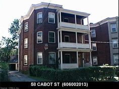 58 CABOT ST (Hartford, CT 06112) - $200,000: A true must  see!!!!!completely updated on all three  floors. turn-key, just  move  right in  or rent  third floor. best 3-family around. real money maker - Sterling Realtors Investment Property For Sale, Three Floor, Floors, Third, Multi Story Building, Real Estate, Key, Mansions, House Styles