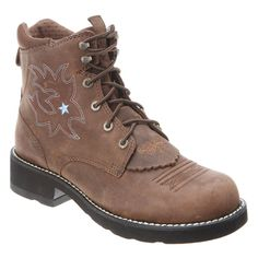 Ariat Women's Probaby Lacer Work Boot > Can't believe it's available, see it now : Women's cowboy boots