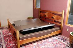 Military Style Hidden Safe Under The Bed Lets You Sleep On Valuables #geek