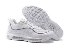 various colors 2f390 48d74 Pruchease Scarpa New Supreme x Nike Air Max 98 All Bianco Running Uomo