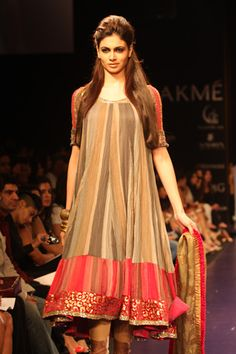 Designer: Manish Malhotra (of course) | different color combination, love the cut/style