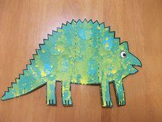 Preschool Crafts for Kids*: Dinosaur Card Craft Projects For Kids, Art Projects, Crafts For Kids, Arts And Crafts, Make A Dinosaur, Dinosaur Cards, Dinosaurs Preschool, Dinosaur Activities, Classroom Crafts