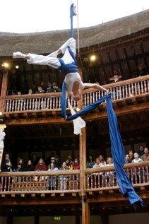 (c) Andy Bradshaw Shakespeare, Globe Theatre, Theater, Aerial Silks, Midsummer Nights Dream, Play Ideas, Stage, Photography, Sustainable Development
