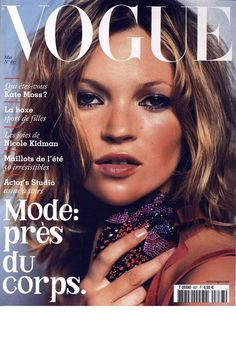 Vogue Paris May 2003: Kate Moss
