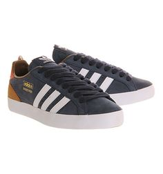 Adidas Basket Profi Low Legend Ink Red - His trainers