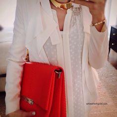 I\u0026#39;m wearing Celine python blade bag and Barton Perreira sunglasses ...