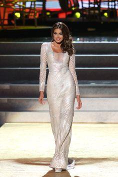 Beautiful Miss Universe dresses: Miss Venezuela Maria Gabriela Isler #MissUniverse #MissUniverso2013 #Miss #PeoplesMiss #Venezuela #PeoplesModel