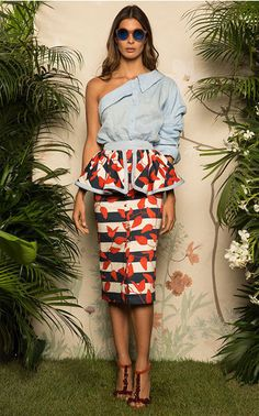 The Designer: Her off-the-shoulder Tulum top put her on the map, and since the Colombian designer has become synonymous with feminine, festive pieces. This Season It's All About: The perfect vacation wardrobe via Caribbean-inspired prints and modern takes on maritime stripes.