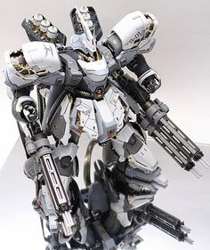GUNDAM GUY: MG 1/100 MSN-04 Snow Sazabi - Custom Build