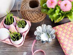 Easter.                                           Racconti per immagini :: La tavola pasquale in rosa