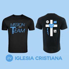 camiseta mission team 2015
