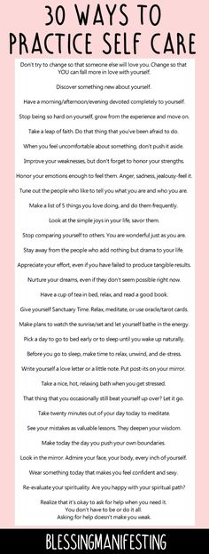 60 ways to practice self care and love yourself! self love club, self care, self love inspo, love yourself, self care ideas Affirmations, Paz Mental, Self Care Activities, Self Empowerment, Self Acceptance, Self Care Routine, Self Development, Personal Development, Motivation