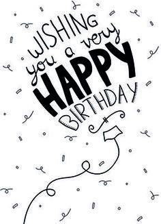 Best Birthday Quotes : Wishing you a ver happy birthday - Quotes Boxes Birthday Celebration Quotes, Best Birthday Quotes, Happy Birthday Messages, Very Happy Birthday, Happy Birthday Images, Happy Birthday Greetings, Happy Birthday Typography, Special Birthday, Happy Birthday Sir Wishes