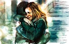 Found on Deviantart. OMG this is so pretty. I always loved these two together