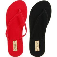 24f5e8d7f6f44d Flojos fiesta 2 pair pack black red. Flip Flops JealousCharcoalCinderellaPairsFiestasSlipper