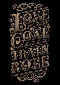 """Lettering by David Maclennan. Quote from the Black Keys """"Everlasting Light"""" Typography Served, Typography Love, Script Lettering, Typographic Design, Vintage Typography, Calligraphy Letters, Typography Letters, Lettering Design, Creative Lettering"""