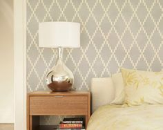 Web site with cool stencils--less expensive alternative to wall paper!
