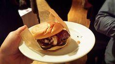 Brisket Burger from Briskettown! #Brooklyn #FoodEvent #BronxLetters #Foodie