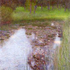 Gustav Klimt - The Swamp, 1900