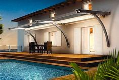 Best retractable patio awning designs, DIY makeover ideas and most popular brands and models.