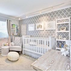 Adorable Gender Neutral Kids Bedroom: 108 Best Interior Ideas www. - Rooms Inn The House Baby Boy Rooms, Baby Boy Nurseries, Kid Rooms, Gender Neutral Nurseries, Nursery Ideas Neutral, Gray Nurseries, Baby Bedroom Ideas Neutral, Babies Rooms, Small Nurseries