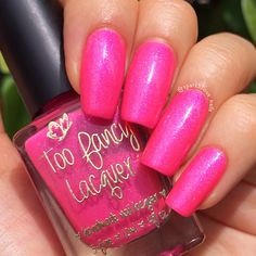 Too Fancy Lacquer - Never Too Old For Pink