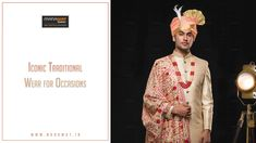 Manawat is an exclusive store and showroom for mens sherwani and other wedding wear like kurta payjama, mens blazer and more. Mens Sherwani, Wedding Sherwani, Wedding Wear, Men's Collection, Stylish Men, Mens Suits, How To Wear, Fashion, Mens Suits Style