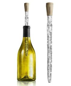 The Corkcicle gives you the perfect wine temperature every time! Keeps white wines perfectly chilled for an hour or and can cool room temperature reds in 15 minutes. $22.95