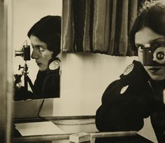 "alfiusdebux: "" Ilse Bing. Self Portrait with Leica, 1931 by geldenkirchen on Flickr. """