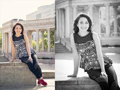 Senior photo downtown Denver by Jessie Schoepflin Photography #jsartco #seniorphotos #citycenter #jessieschoepflinphotography