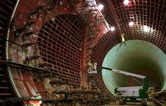 Storm Sewer System / Saitama, Japan.  Looks similar to the LHC at CERN.