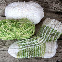 Patterned Socks, Knitting Socks, Mittens, Kissa, Knitting Patterns, Blog, Diy, Crafts, Slippers