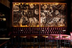 The CHOW Bar & Eating House In Sydney's Surry Hills designed by Leading Restaurant Interiors Design Studio Giant Design and Sydney-based Creative Agency Babekuhl