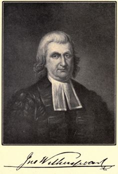 """Cursed be all learning that is contrary to the cross of Christ.""  - John Witherspoon  6th president of Princeton University and signer of the Declaration of Independence."