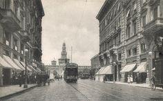 L'inizio del secolo XX - Via Dante.