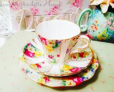 Royal Albert, Teacup, Old And New, Charlotte, China, Facebook, Tableware, Beautiful, Tea Pots