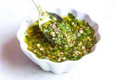 Easy, Homemade Chimichurri Sauce Recipe