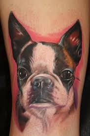 Image result for boston terrier tattoo pictures