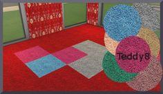 Teddy 8 rugs by Christine1000 at Sims Marktplatz � Sims 4 Updates