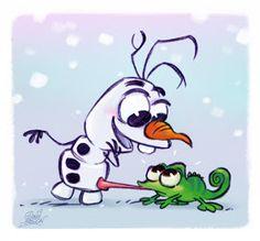 David Gilson: Olaf and Pascal