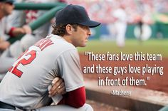 Matheny on Busch Stadium