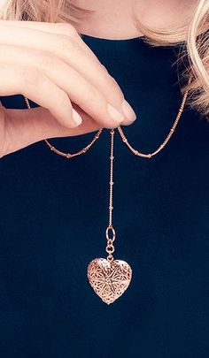 Filigree Heart Locket ♥
