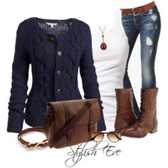 Comfy Friday Outfit i want this sweater...