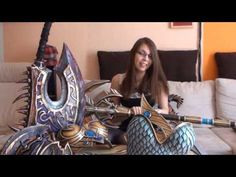 Video tutorials and making-ofs for costume armor, primarily using Worbla, by Kamui Cosplay in german and english