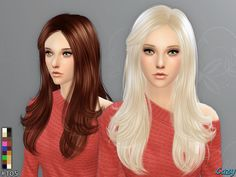 #Sims4 | Cazy's Starlight Hairstyle - Sims 4