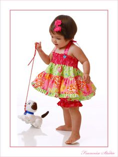 Oh My Goodness!!!  Baby girl twirl top bloomer set -Beautiful Garden - French European ...