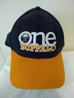 3e2c45d05b1 Waterfalls OutletVintage Baseball Caps · Buffalo Sabres One Buffalo fitted  L XL baseball hat cap New Era  NewEra  BuffaloSabres