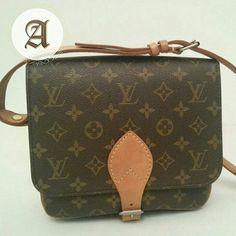 a156fe25874b Preowned LOUIS VUITTON vintage crossbody bag Cartouchiere MM     SOLD